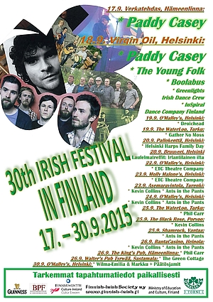 30th Irish Festival in Finland 2015