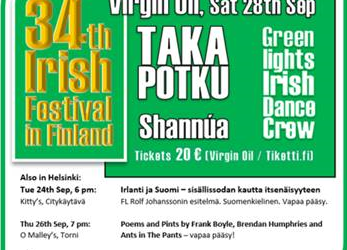 Irish Festival in Finland 2019
