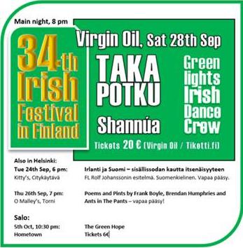 Irish Festival in Finland 2019